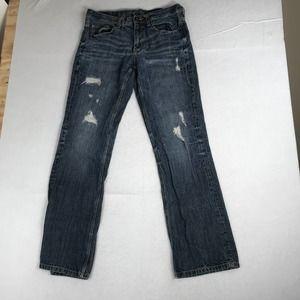 Helix Slim Boot Jeans Mens 34x34 Blue